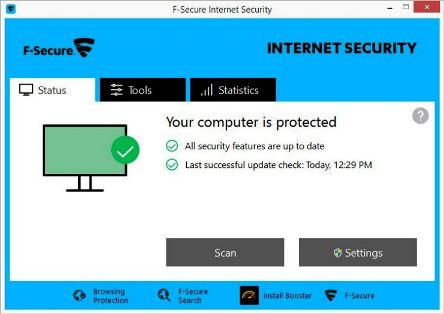 f secure internet security 2016