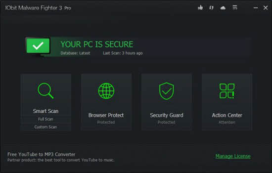 iobit malware fighter 3 pro Spyware Removal Tool 2016