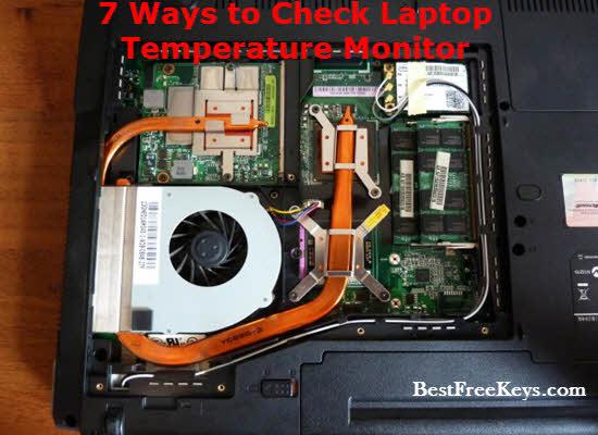 laptop temperature monitor