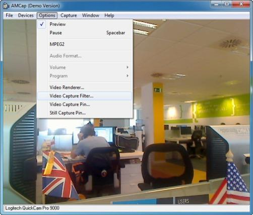 amcap video capture software