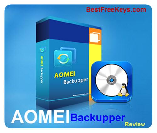 AOMEI Backupper Review 2016
