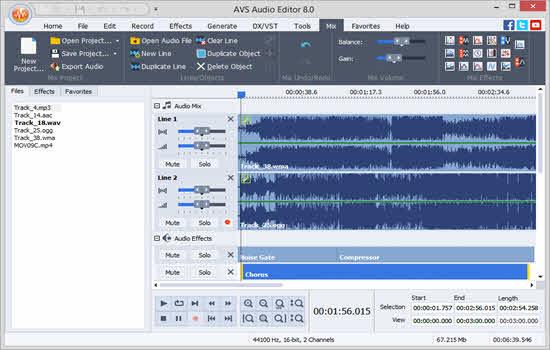 AVS Audio Editor 2016