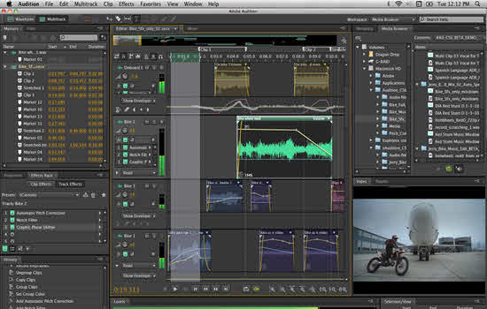 Adobe Audition CC Audio Editing Software 2016