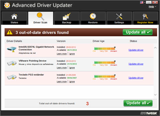 Advanced Driver Updater 2016