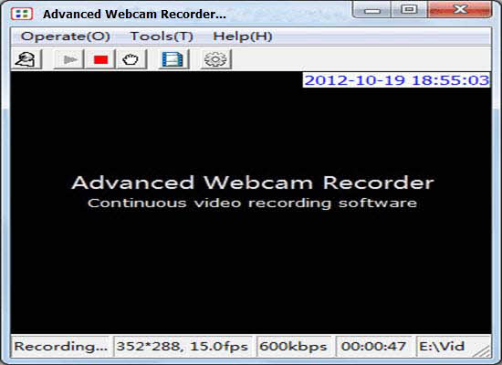 Advanced Webcam Recorder 2016