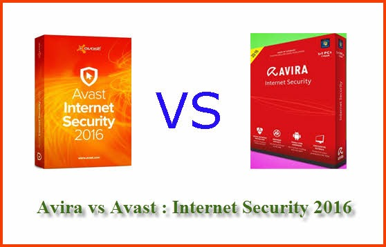 Avira vs Avast Internet Security 2016