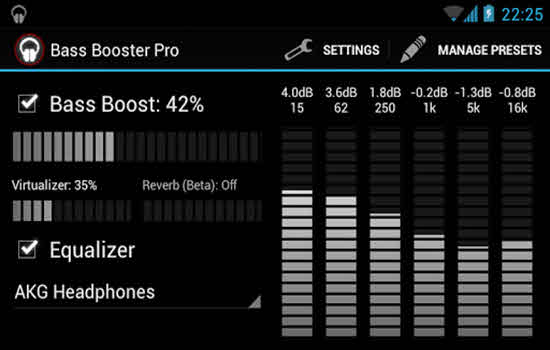 Bass Booster Pro by Desaxed studio