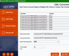 Best Free EML to MSG Converter