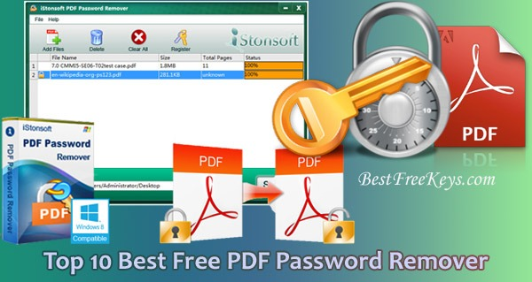 Best Free PDF Password Remover