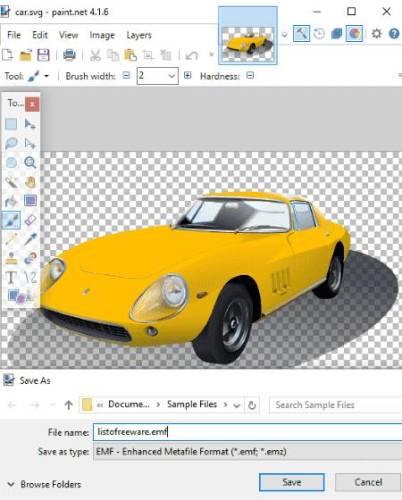 Best Free SVG to EMF Converter