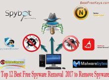 Top 12 Best Free Spyware Removal 2017 to Remove Spyware
