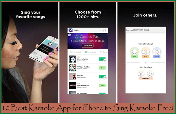 Best Karaoke App for iPhone