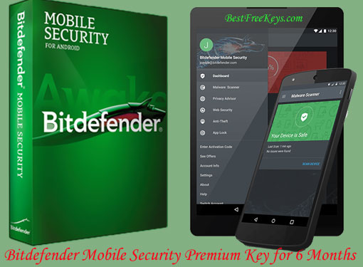 Bitdefender Mobile Security Premium Key