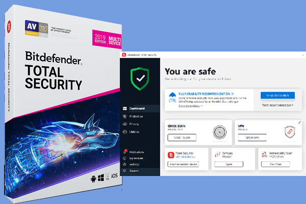 Bitdefender Total Security 2019 90 Days Trial Free Download