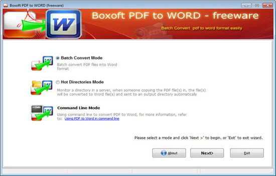 Boxoft pdf to word 2016