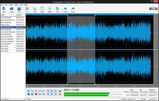 DJ Free Audio Editor 2019