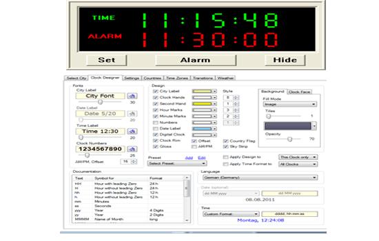 Desktop Alarm Clock 2016