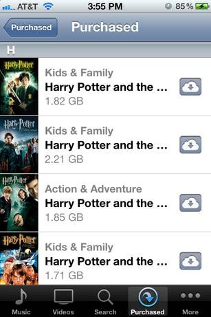 Download Movies via iTune