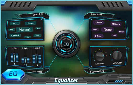 EQ & Bass Booster Pro- Metal