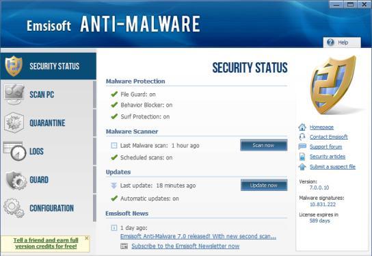 Emsisoft Anti Malware 2016