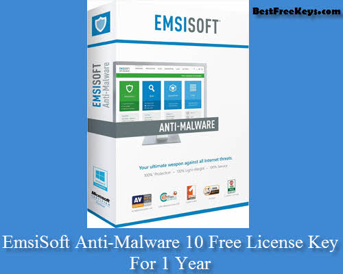 emsisoft anti malware license key free