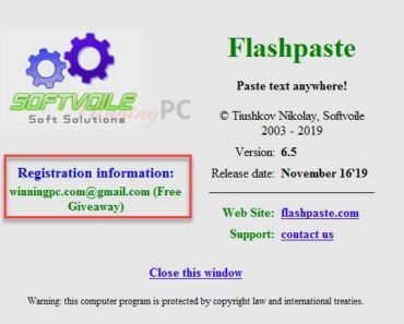 Flashpaste license key