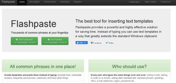 Flashpaste license keys