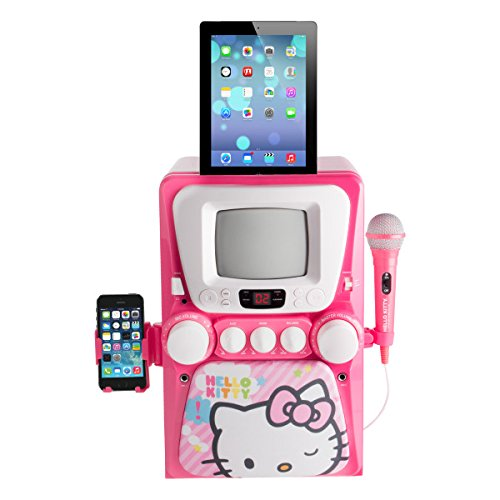 hello-kitty-karaoke-system