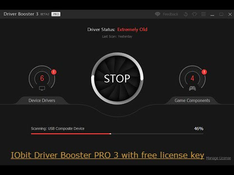 IObit Driver Booster PRO 3 Serial Key