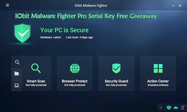 IObit Malware Fighter Pro Serial Key Free