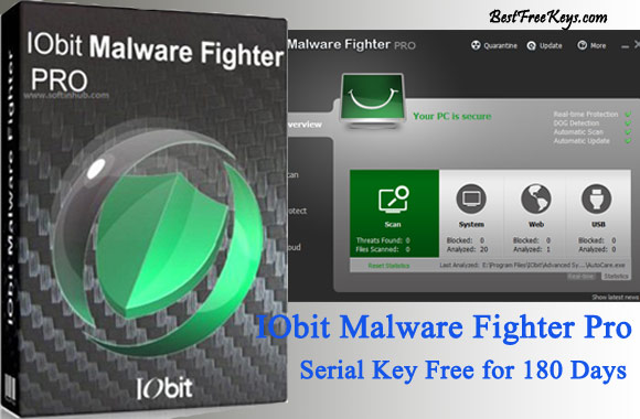 IObit Malware Fighter Pro Serial Key Free