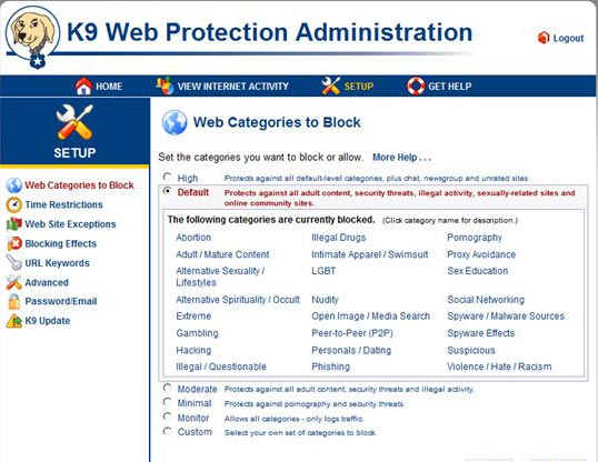 K9 Web Protection