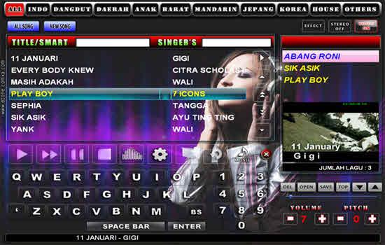 Karaoke Version 2016