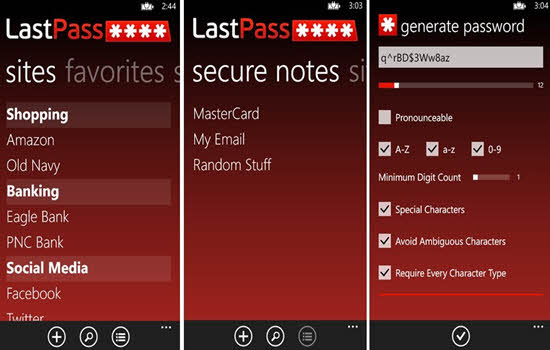LastPass Password Keeper 2016