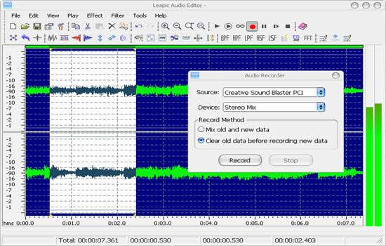 Leapic Free Audio Editor 2019