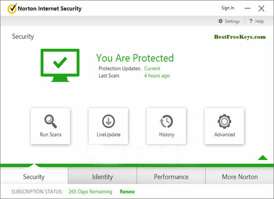 Norton Internet Security 2016 Free Serial Key