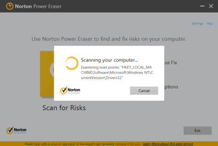Norton Power Eraser Adware Remover 2016