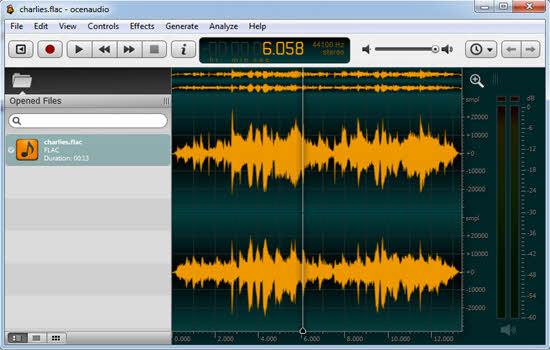 Ocean Free Audio Editor 2016