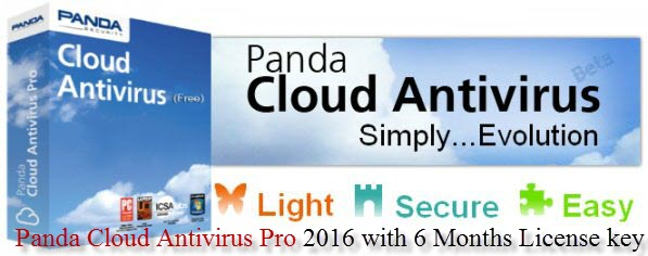 Panda Cloud Antivirus Pro 2016 Activation Key