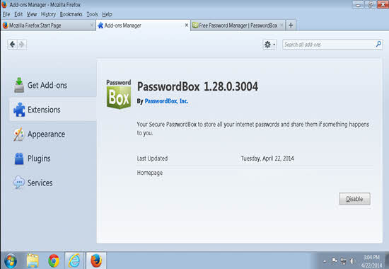 PasswordBox 2016