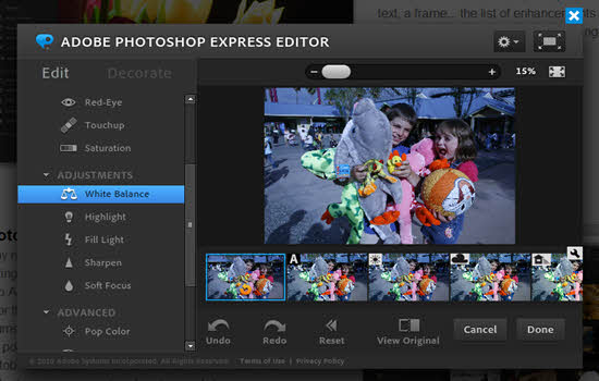 Photoshop Express Online-Photo Editor 2016