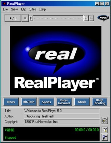 Real Player Standalone Installer Free Download