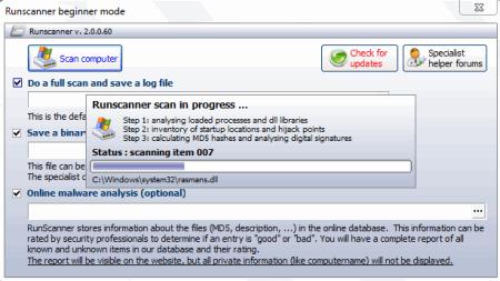 RunScanner Adware Remover 2016
