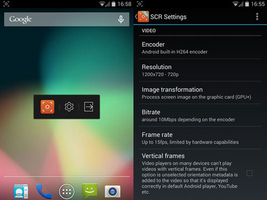 SCR Screen Recorder App