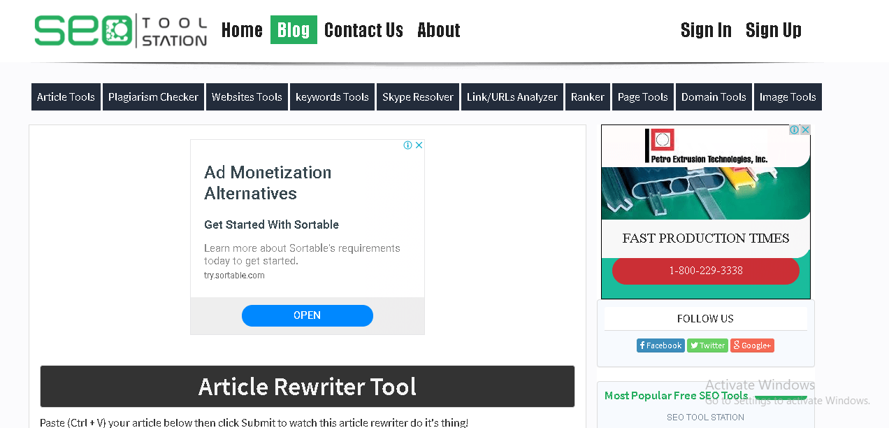 Seo tools station