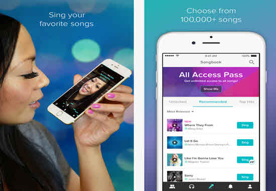free karaoke apps for iphone