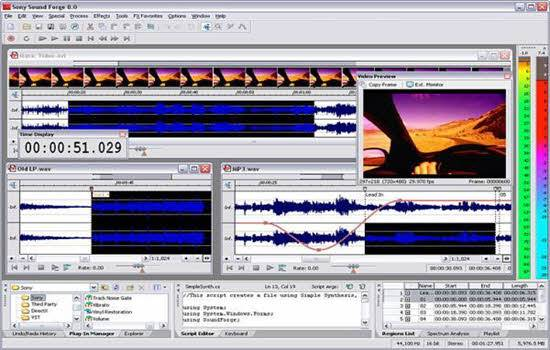 Sound Forge Audio Editing Software 2016