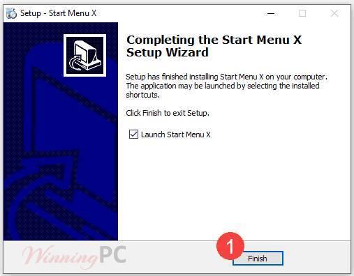 Start Menu X PRO License Key Step 1