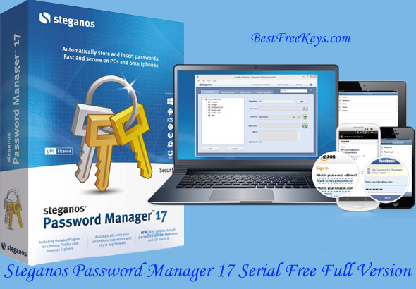 Steganos Password Manager Serial Key