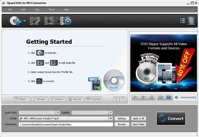 Tipard-DVD-to-MP3-Converter